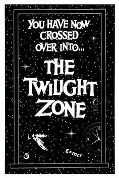 The Twilight Zone. The Twilight Zone. The Twilight Zone. Tv Retro, Retro Toys, New Twilight, Twilight Series, Film Science Fiction, Fiction Film, Good Vibe, Cinema, E Mc2