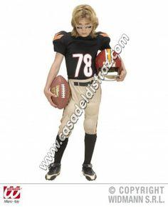 Disfraz de Jugador Fútbol Americano para niños. #Disfraces #Carnaval  www.casadeldisfraz.com
