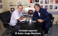 """En """"Sin Dolor"""" Invitado Jorge Martínez-Martes 15 hs por canalfavorito.com"""