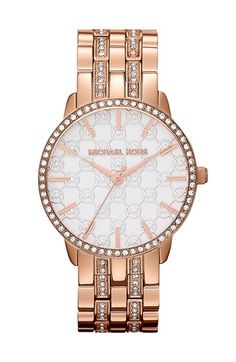 Michael Kors 'Lady Nini' Round Bracelet Watch, 35mm available at #Nordstrom