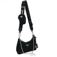 Louis Vuitton Small Handbag, Nylon Bag, Prada Bag, Cloth Bags, Leather Shoulder Bag, Shoulder Bags, Fashion Bags, Sport, Duffle Bags