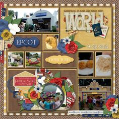 Sampling Food Around The World   Credits: Template by Kellybell Designs - Pocket Story Templates Volume 5 - Template 1 Festival of Food and Wine by Kellybell Designs Festival of Food and Wine Page Starters by Kellybell Designs Festival of Food and Wine Word Art by Kellybell Designs