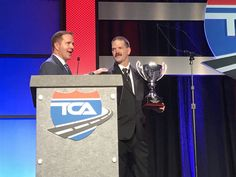Daniel Sieczkarski of Rochester, N.Y., a driver for Melton Truck Lines out of Tulsa, Okla., has been named the 2016 Highway Angel of the Year for rescuing another truck driver from rising flood wat…