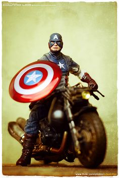Captain America & Hakaider's Bike