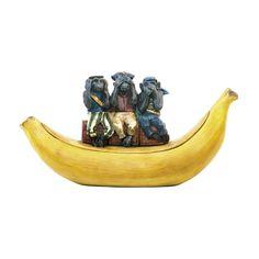 Sterling Three Wise Monkeys Dish