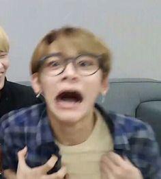 41 Trendy Ideas For Memes Faces Kpop Nct Memes Exo, Memes Humor, Funny Kpop Memes, Lucas Nct, Taeyong, Super Memes, Reaction Face, All Meme, Memes Funny Faces