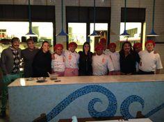 El equipo de L'Ostería junto a los mejores chefs de Latinoamérica en canal Utilísima.