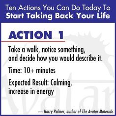 """""""Action 6 - Make a list of all the incomplete projects you have. Prioritize the list. Expected Result: Recovery of attention"""" Harry Palmer, author of the Avatar Materials Empowerment Program, Self Empowerment, Personal Development Courses, Self Development, Avatar, You Can Do, Told You So, Take Back, Lists To Make"""