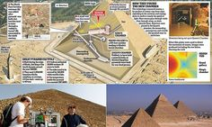Great Pyramid of Giza's hidden chamber is revealed | Daily Mail Online