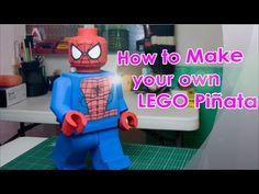 How to make a LEGO piñata - YouTube