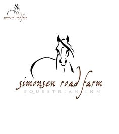 Simonsen Road Farm Equestrian Inn - Logo Design