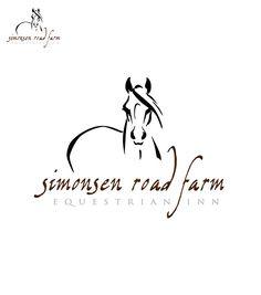 Simonsen Road Farm Equestrian Inn - Logo Design