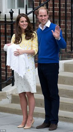 It's a girl! Kate Middleton welcomes #RoyalBaby #dailymail