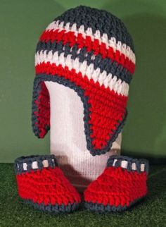 dc9fba7c857 NCAA NFL Houston Texans colors blue redwhite by Heads2Toes on Etsy