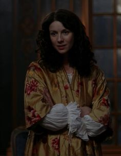 "Claire Fraser (Caitriona Balfe) ) in Season Two of Outlander on Starz, Episode Two ""Not In Scotland Anymore"" via https://outlander-online.com/2016/04/16/1550-uhq-1080p-screencaps-of-episode-2x02-of-outlander-not-in-scotland-anymore/"