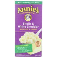 Annie's Shells Mac and Cheese (Pack of 12)  $14.04
