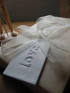 White Clay tag 'Love'