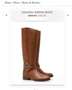 toryburch riding boots