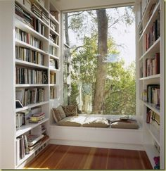 Good book, cozy room and a beautiful view what more can you ask....