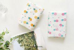 Pineapple fabric Pineapple pattern 150cmx90cm by KoreaBacol