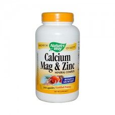 Calcium, Mag & Zinc Nature's Way