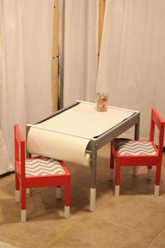 IKEA is one of the best stores, if for no other reason than the fact that their products are so versatile. You may walk out of the store with a table, and get home and turn it into something completely different!