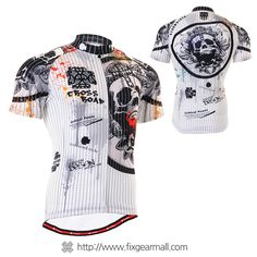 #FIXGEAR Men's #Cycling #Jersey Short Sleeve, model No CS-902. This Comfortable Cycling Jersey is manufactured by FG Creative located in South Korea. #bicycle #wears #sportswear #tracksuit #athletic #mtb #bmx #downhill #clothing #ride #bike