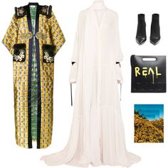 Adele by sandrastories on Polyvore featuring мода, Ann Demeulemeester, Gucci, Balmain and Angelo