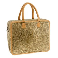 J. Crew Glitter Large Overnighter (25% off today!)