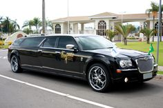 Funeral, Flower Car, Chrysler 300, Commercial Vehicle, Limo, Ambulance, Luxury Cars, Vehicles, Color