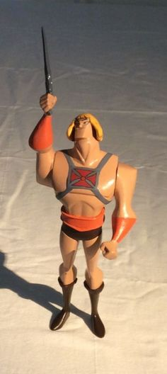 He-Man Bruce Timm Style Vinyl Figure (Masters of the Universe) Custom Action Figure