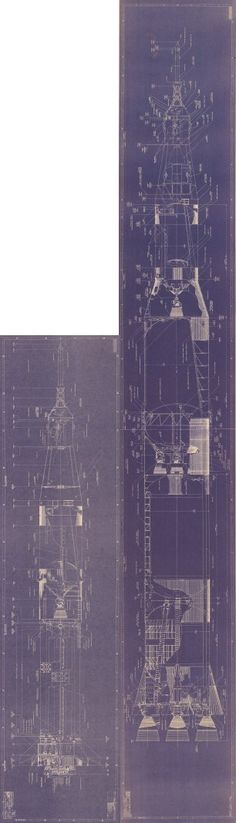 Would I buy a blueprint repro of the Saturn lb/V rocket? Yes. Yes I would.