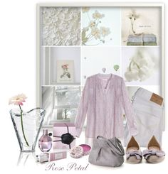 """~..Soft thoughts..~"" by white-rosepetal ❤ liked on Polyvore"