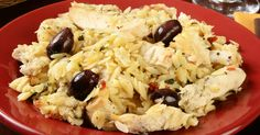 Forget pasta.  This Mediterranean orzo salad is just as easy and full of flavor - hot or cold.