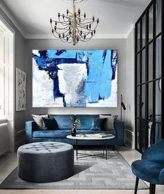 Original Abstract Canvas ArtLarge Acrylic Painting Home image 3 Large Artwork, Large Canvas Art, Abstract Canvas Art, Extra Large Wall Art, Large Painting, Wall Canvas, Original Artwork, Acrylic Art, Original Paintings