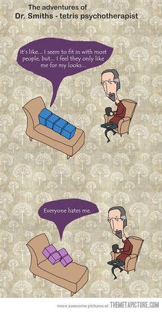 Tetris Psychotherapy #tetris #psychotherapy