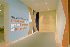 """""""The World From Here: Treasures of the Great Libraries of Los Angeles"""" exhibition  Durfee Regn Sandhaus, Los Angeles, California, 2001"""
