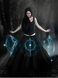 When darkness falls, in quiet tone, the Wiccan calls the great Unknown, and casts her spells with all her gloom, weaving channels for her doom - Entry f. The Wiccan Perfect Image, Perfect Photo, Love Photos, Cool Pictures, Fantasy Pictures, Wiccan Art, Mystery, Gypsy Moon, Dark Fantasy