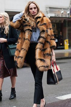 lsd - The Best Street Style from London Fashion Week Fall 2016 - February 2016