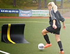 Camilla, Boo FF. Individuell träning 3/10 2012. Goeras Football Education