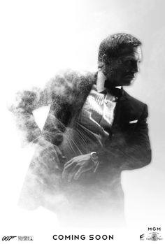 In honor of the cast announcement for the new November 2015 James Bond movie 'Spectre', Empty Lighthouse found some fabulous fan art on deviantART. Spectre Movie, James Bond Style, Daniel Craig James Bond, Superhero Poster, Joker Art, James Bond Movies, Bond Girls, Skyfall, Film Serie