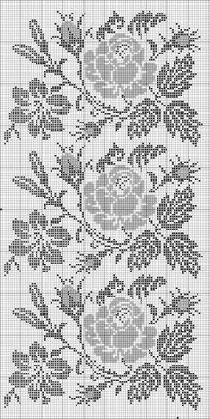 ,Good a few ideas for beautiful embroidery By embroidering beautiful patterns, small numbers or lovely borders, DIY fashion makers may style their own . Cross Stitch Rose, Cross Stitch Borders, Cross Stitch Flowers, Cross Stitch Designs, Cross Stitching, Cross Stitch Embroidery, Embroidery Patterns, Cross Stitch Patterns, Crochet Patterns