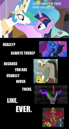 Yet another reason why Night Moon/Luna is best princess! And best pony! :D