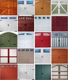 ideas for garage doors
