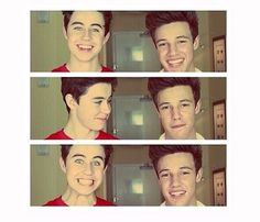 Cameron Dallas and Nash Grier❤ they are TOO CUTE to each other ! ♡ #Cash #nashnotice @Cameron Dallas️