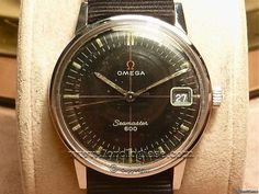 Omega seamaster 600, 1964 military style Watch.