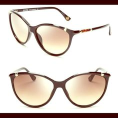 Michael Kors large cat Eye sunglasses Tortoise colored large cat eye sunglasses with small golden spike in the corners. Michael Kors logo on each of the arms. Michael Kors Accessories Glasses