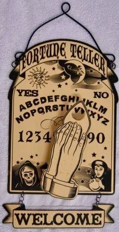 Cute wall Ouija board
