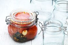 Oλόκληρες ντομάτες σε βάζα / Κονσερβοποίηση & Aποστείρωση