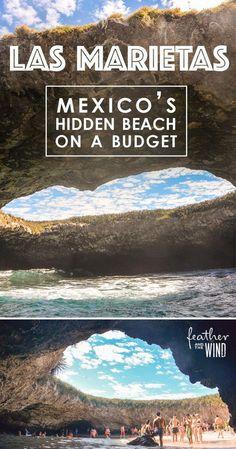 Mexico's Hidden Beach - How to Visit Las Islas Marietas on a Budget